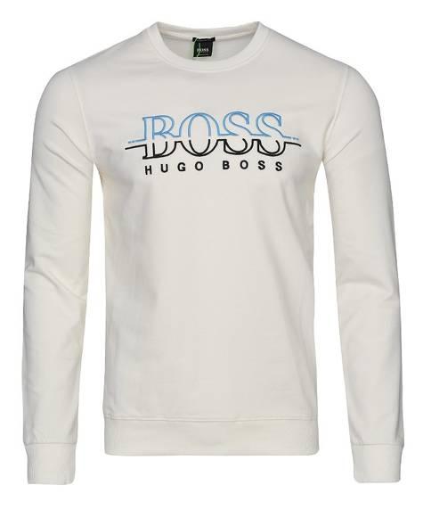b6e5e5bf8c532 Bluza męska Hugo Boss Salbo C-Neck ecru - Zantalo.pl