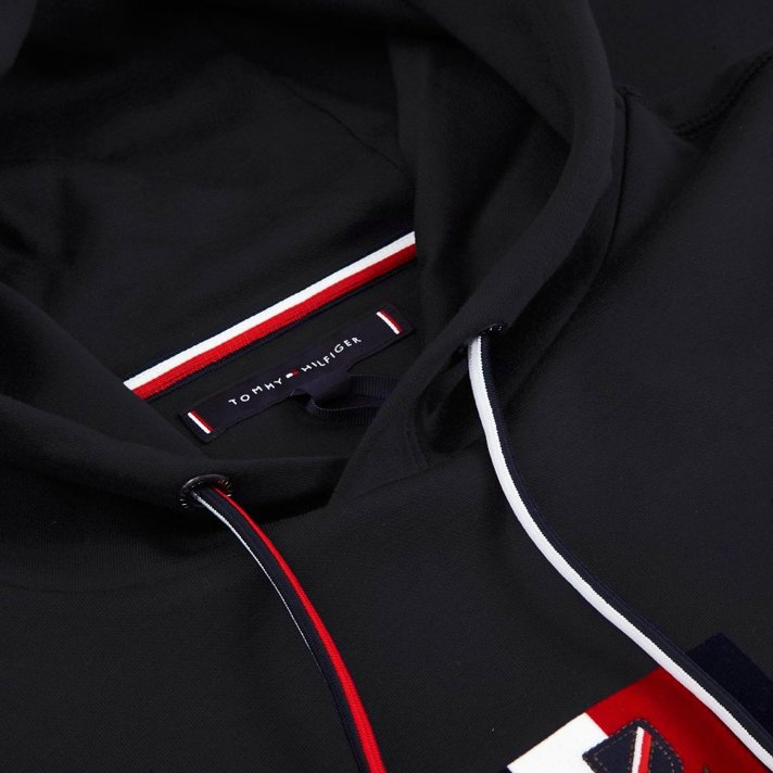 Bluza TOMMY HILFIGER Luxury Artwork Black