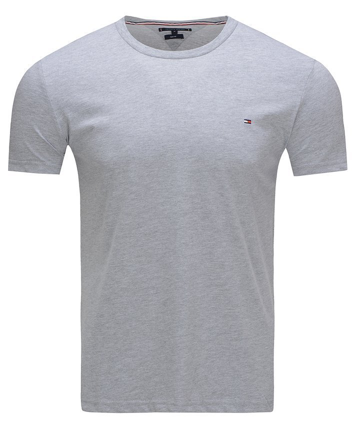 T-SHIRT KOSZULKA TOMMY HILFIGER COTTON GREY