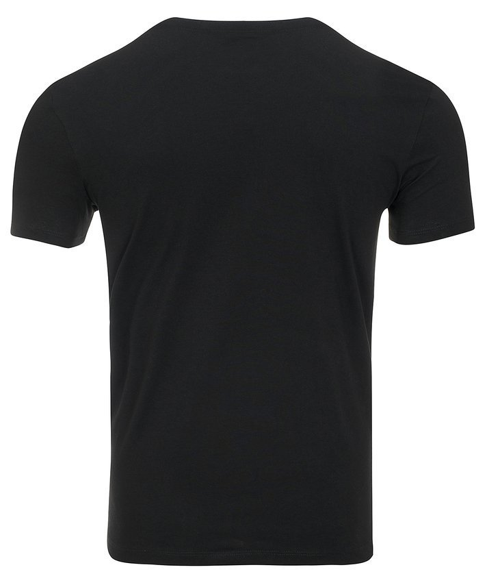 T-shirt koszulka Calvin Klein Carbon Brush Black