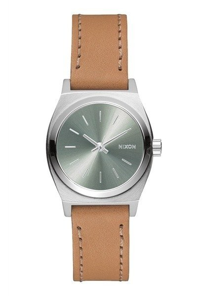 ZEGAREK NIXON SMALL TIME TELLER LEATHER (A5092217)