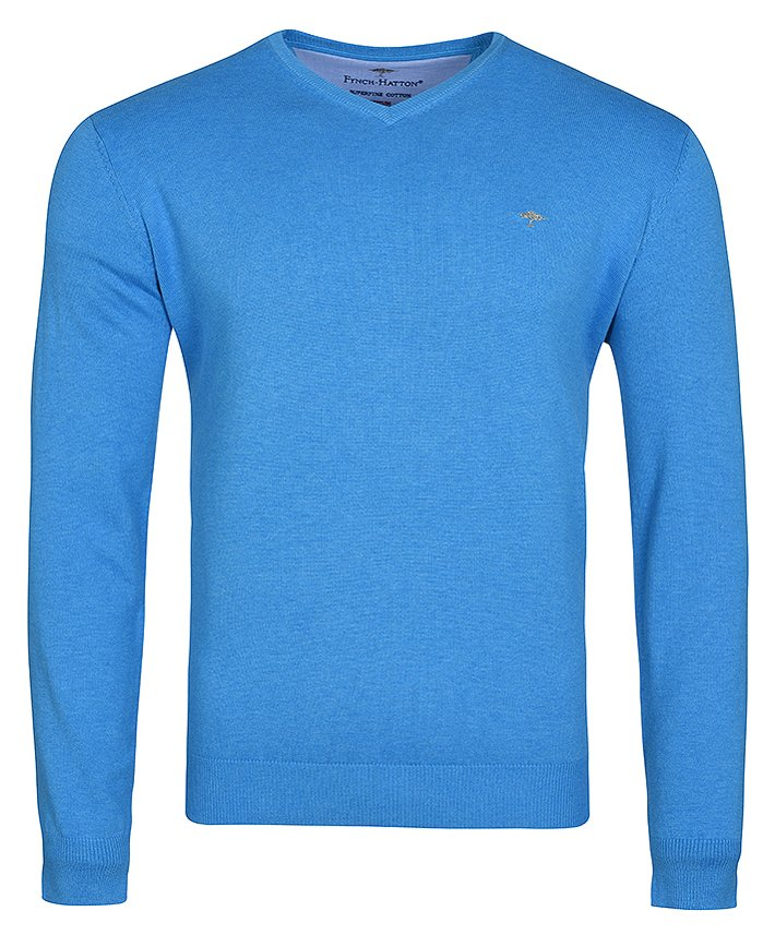 sweter męski Fynch Hatton V-Neck SF 211 629